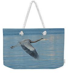 Blue On Blue Weekender Tote Bag