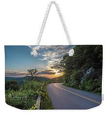 Blue Ridge Parkway Morning Sun Weekender Tote Bag
