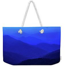 Blue Sunset Weekender Tote Bag