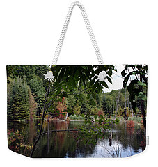 Blueberry Mountain Weekender Tote Bag