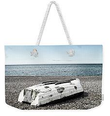 Boat On Seaford Beach Weekender Tote Bag