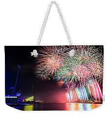 Boathouse Fireworks Weekender Tote Bag