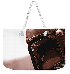 Weekender Tote Bag featuring the photograph Boba Fett Helmet 32 by Micah May