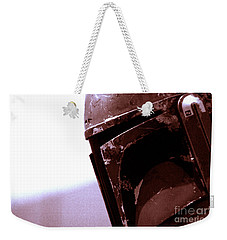 Weekender Tote Bag featuring the photograph Boba Fett Helmet 34 by Micah May