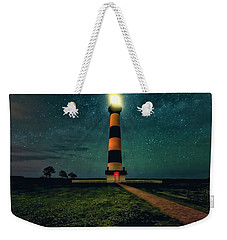 Bodie Island Night Weekender Tote Bag