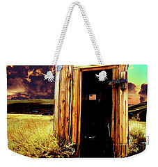 Bodie Outhouse Weekender Tote Bag by Jim And Emily Bush