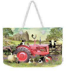 The Farmyard Weekender Tote Bag