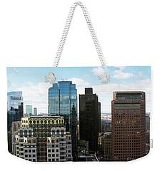 Boston Financial District Weekender Tote Bag