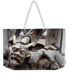 Bounded Devil Weekender Tote Bag by Michal Boubin