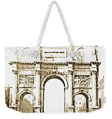 Brandenburg Gate, Berlin Germany, 1903, Vintage Image Weekender Tote Bag