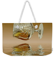 Brandy Decanter Glass Weekender Tote Bag by David French