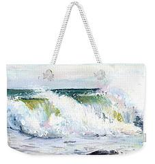 Breaking Seas Weekender Tote Bag