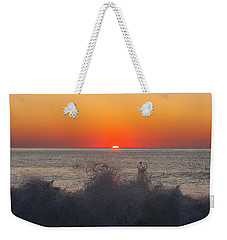 Breaking Wave At Sunrise Weekender Tote Bag
