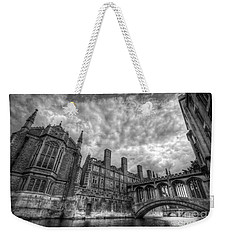 Bridge Of Sighs - Cambridge Weekender Tote Bag