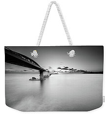 Weekender Tote Bag featuring the photograph Bridge by Okan YILMAZ