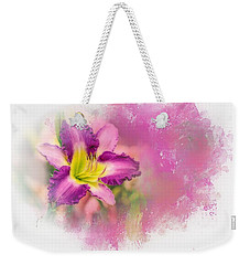 Bright Lily Weekender Tote Bag