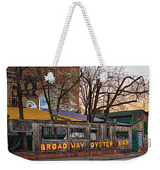 Broadway Oyster Bar Weekender Tote Bag