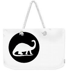 Brontosaurus Weekender Tote Bag by Mordax Furittus