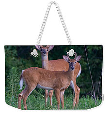 Buck Father And Son Weekender Tote Bag