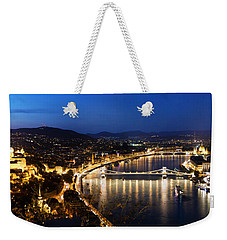 Budapest. View From Gellert Hill Weekender Tote Bag