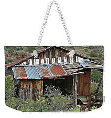 Bull Canyon Line Cabin Weekender Tote Bag by Tom Janca
