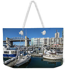 Burrard Bridge Weekender Tote Bag