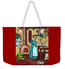 Burritos In The Kitchen Weekender Tote Bag