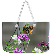 Butterflies Are Free Weekender Tote Bag