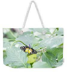 Tiger Butterfly Weekender Tote Bag