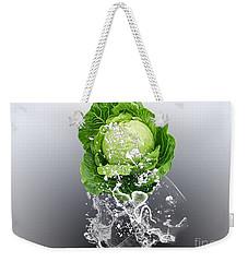 Cabbage Splash Weekender Tote Bag