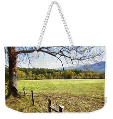 Cades Fence Weekender Tote Bag by Ricky Dean
