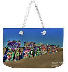 Cadillac Ranch 2 Weekender Tote Bag