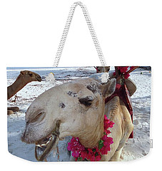 Camel On Beach Kenya Wedding3 Weekender Tote Bag