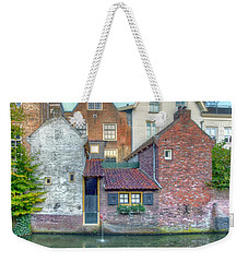Canal Houses Weekender Tote Bag by Nadia Sanowar