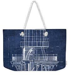 Cape Hatteras Lighthouse Blueprint  1869 Weekender Tote Bag