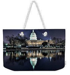 Capital Building Weekender Tote Bag