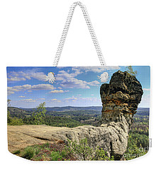 Capska Cudgel - Rock Formation Weekender Tote Bag by Michal Boubin