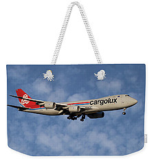 Cargolux Boeing 747-8r7 1 Weekender Tote Bag