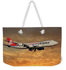 Cargolux Boeing 747-8r7 2 Weekender Tote Bag