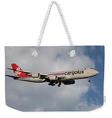 Cargolux Boeing 747-8r7 5 Weekender Tote Bag