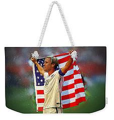 Abby Wambach Weekender Tote Bag