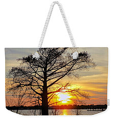 Carolina Sunset Weekender Tote Bag by Victor Montgomery