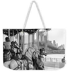 Carrousel Nyc Weekender Tote Bag