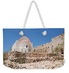 Castle Chapel On Halki Weekender Tote Bag