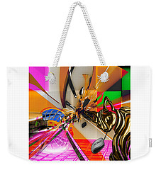 Cat And Mouse Art Collection Weekender Tote Bag