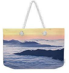 Cataloochee Valley Sunrise Weekender Tote Bag