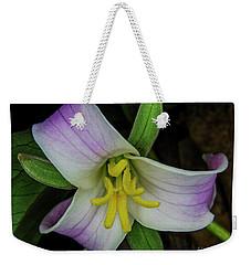 Catesby Trillium Weekender Tote Bag by Barbara Bowen