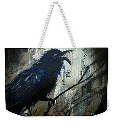 Cawing The Storm Weekender Tote Bag