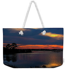 Weekender Tote Bag featuring the photograph Ceader Key Florida  by Louis Ferreira