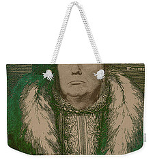 Celebrity Etchings - Donald Trump Weekender Tote Bag